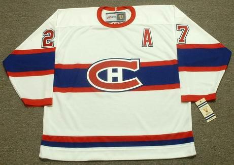 c5b847a5d62 ALEX KOVALEV Montreal Canadiens 1946 CCM Vintage Throwback NHL Hockey Jersey  - Custom Throwback Jerseys
