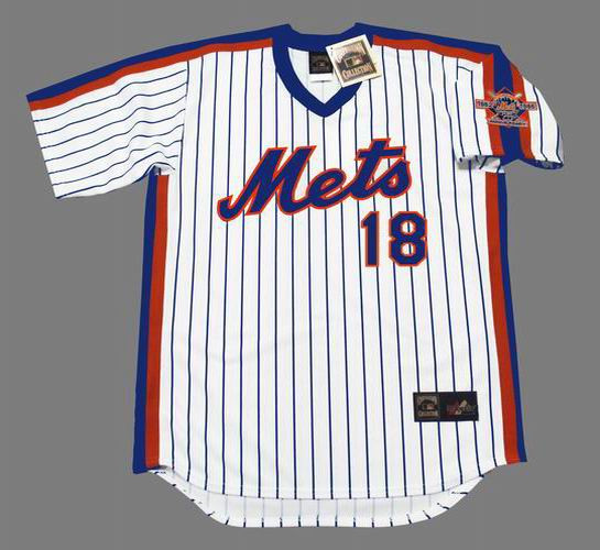 the best attitude 6ca85 4a30a DARRYL STRAWBERRY New York Mets 1986 Majestic Cooperstown Home Baseball  Jersey