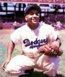 ROY CAMPANELLA Brooklyn Dodgers 1951 Home Majestic Baseball Throwback Jersey - ACTION