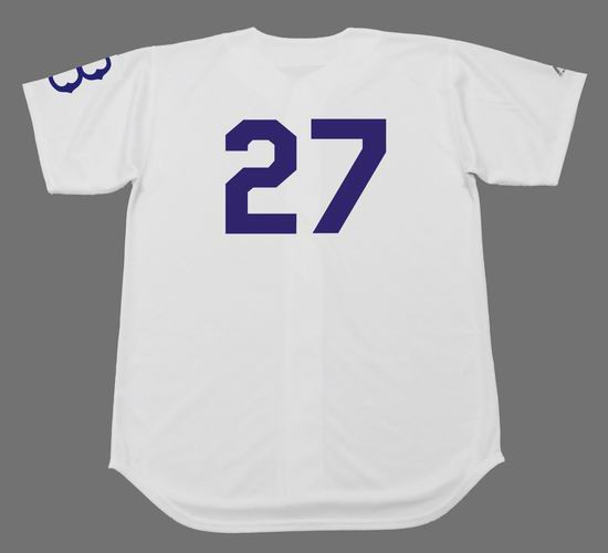 best sneakers 13a1e 58160 TOMMY LASORDA Brooklyn Dodgers Majestic Cooperstown Throwback Baseball  Jersey