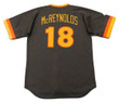 KEVIN McREYNOLDS San Diego Padres 1984 Away Majestic Baseball Throwback Jersey - BACK