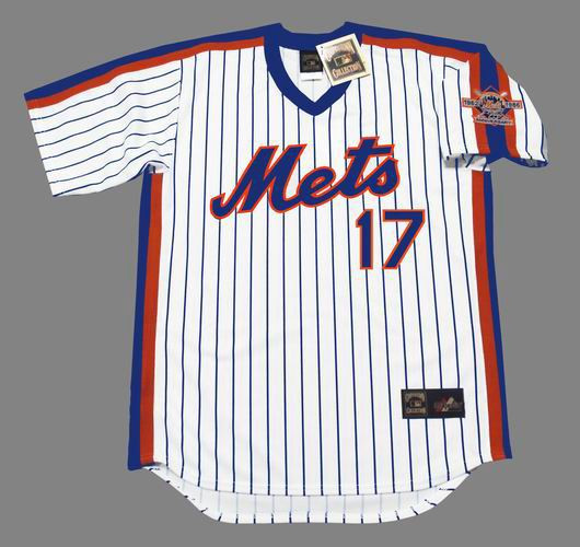 best service 570bd adc3c KEITH HERNANDEZ New York Mets 1986 Majestic Cooperstown Home Baseball Jersey
