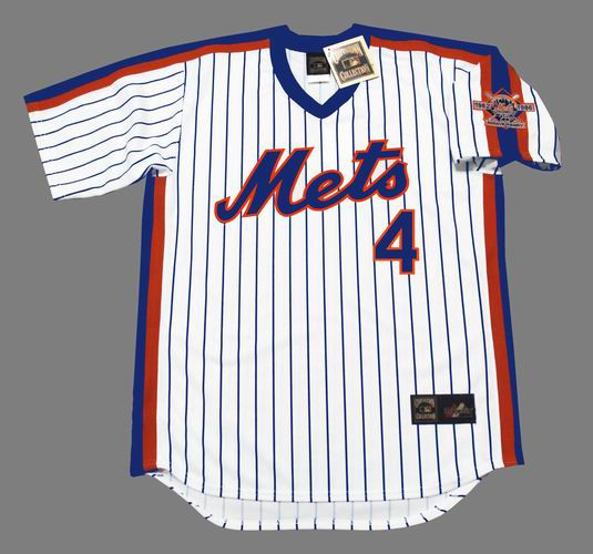 on sale fd2bd d68a3 LENNY DYKSTRA New York Mets 1986 Majestic Cooperstown Home Baseball Jersey