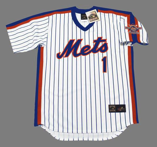 watch 8b245 6a045 MOOKIE WILSON New York Mets 1986 Majestic Cooperstown Home Baseball Jersey