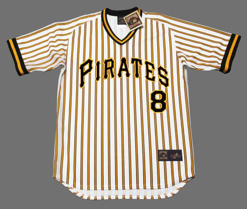 size 40 aa220 4980d WILLIE STARGELL Pittsburgh Pirates 1978 Majestic Cooperstown Home Baseball  Jersey