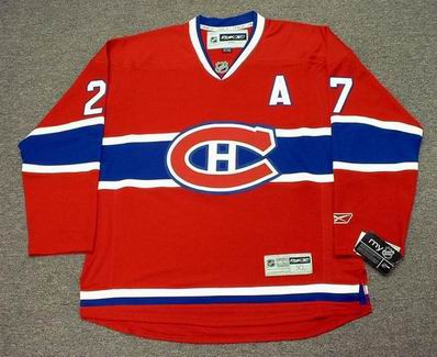 ae46db635bf ALEX KOVALEV Montreal Canadiens 2008 REEBOK Throwback Home NHL Hockey Jersey  - Custom Throwback Jerseys
