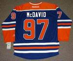 CONNOR McDAVID Edmonton Oilers REEBOK Home NHL Hockey Jersey