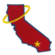 NOLAN RYAN California Angels 1972 Home Majestic Baseball Throwback Jersey - SLEEVE CREST
