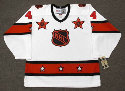 "BOBBY ORR 1973 CCM Vintage Throwback NHL ""All Star"" Hockey Jersey - FRONT"