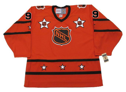 "WAYNE GRETZKY 1980 CCM Vintage Throwback NHL ""All Star"" Hockey Jersey - FRONT"