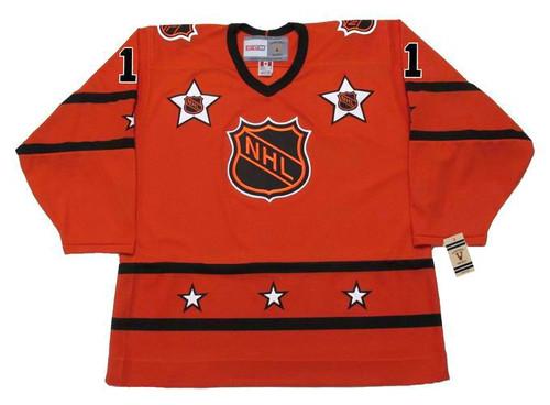 Bernie Parent 1975 All Star Vintage NHL Throwback Hockey Jersey - Front