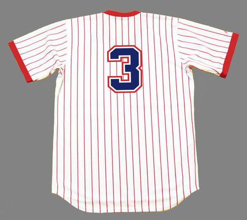 DALE MURPHY Atlanta Braves 1978 Home Majestic Baseball Throwback Jersey - BACK