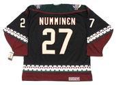 TEPPO NUMMINEN Phoenix Coyotes 2002 CCM Vintage Throwback NHL Hockey Jersey
