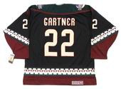 MIKE GARTNER Phoenix Coyotes 1996 CCM Vintage Throwback NHL Hockey Jersey
