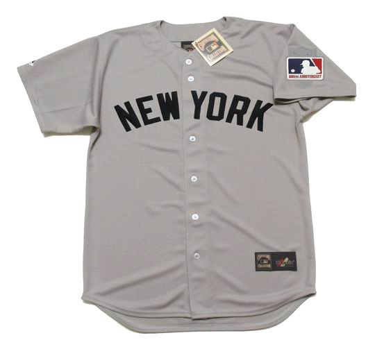 sports shoes ac60a def6d THURMAN MUNSON New York Yankees 1969 Majestic Cooperstown Away Jersey