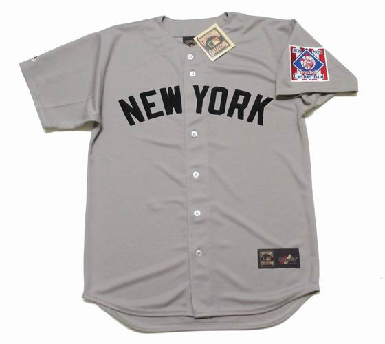 premium selection b2c4a f942c LOU GEHRIG New York Yankees 1939 Majestic Cooperstown Throwback Away Jersey