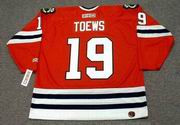 JONATHAN TOEWS Chicago Blackhawks 2009 Home CCM Throwback NHL Jersey - BACK