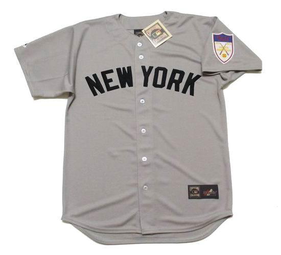 372c259e BILLY MARTIN   New York Yankees 1951 Away Majestic Throwback Baseball Jersey