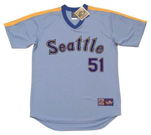 1d57f739019a5e ICHIRO SUZUKI Seattle Mariners 1980 s Majestic Cooperstown Throwback  Baseball Jersey - Custom Throwback Jerseys