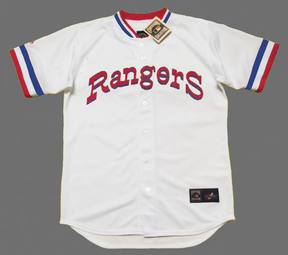 pretty nice f28db 86c09 TED WILLIAMS Texas Rangers 1972 Majestic Cooperstown Home Baseball Jersey