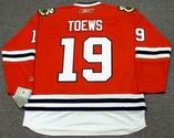 JONATHAN TOEWS Chicago Blackhawks 2010 REEBOK Throwback NHL Hockey Jersey