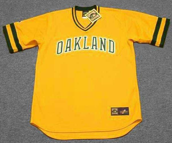size 40 5d8f4 6fe4f JOSE CANSECO Oakland Athletics 1986 Majestic Cooperstown Throwback Baseball  Jersey