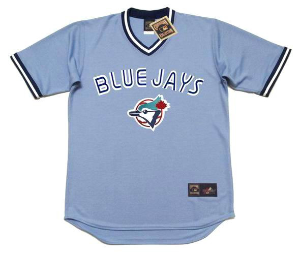 info for 6c147 1ef52 JESSE BARFIELD Toronto Blue Jays 1986 Majestic Cooperstown Away Baseball  Jersey