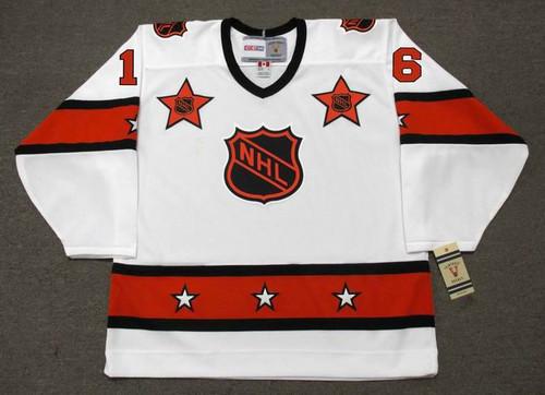 "BOBBY CLARKE 1974 CCM Vintage Throwback NHL ""All Star"" Hockey Jersey - Front"