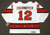 "YVAN COURNOYER 1973 CCM Vintage Throwback NHL ""All Star"" Hockey Jersey"