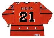 "STAN MIKITA 1973 CCM Vintage Throwback NHL ""All Star"" Hockey Jersey"