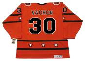 "ROGIE VACHON 1973 CCM Vintage Throwback NHL ""All Star"" Hockey Jersey"