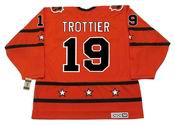 "BRYAN TROTTIER 1978 CCM Vintage Throwback NHL ""All Star"" Hockey Jersey"