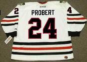 BOB PROBERT Chicago Blackhawks 1996 CCM Throwback Home NHL Hockey Jersey