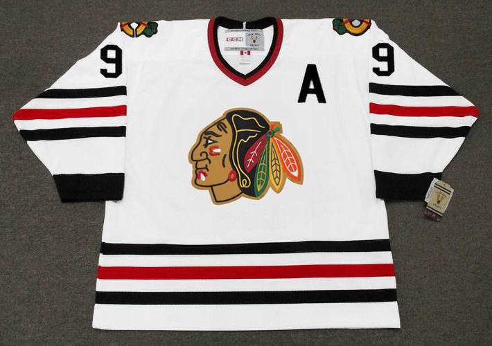 f03c091b3 CCM | BOBBY HULL Chicago Blackhawks 1967 Vintage Throwback NHL ...