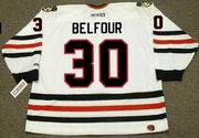 ED BELFOUR Chicago Blackhawks 1994 CCM Throwback Home NHL Hockey Jersey
