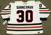 MURRAY BANNERMAN Chicago Blackhawks 1983 CCM Throwback Home NHL Jersey