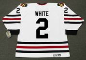 BILL WHITE Chicago Blackhawks 1970 CCM Vintage Throwback NHL Hockey Jersey