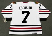 PHIL ESPOSITO Chicago Blackhawks 1966 CCM Vintage Throwback NHL Hockey Jersey