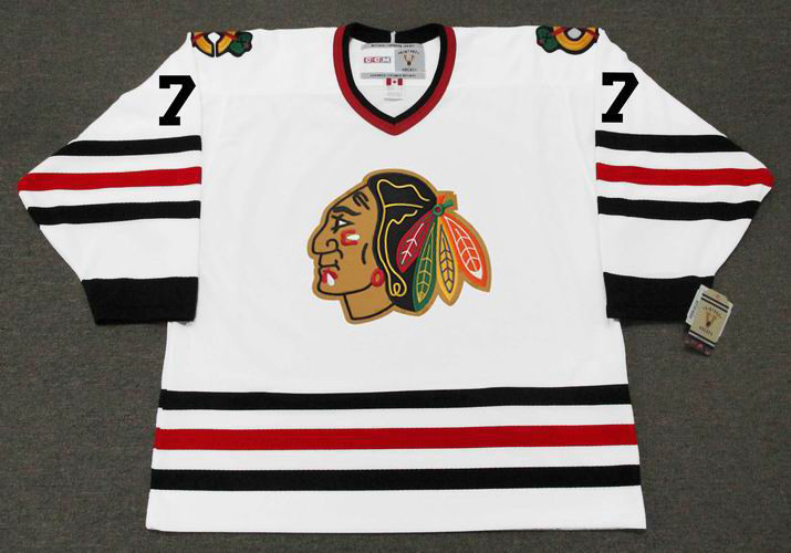 cheaper 0329a 49375 PHIL ESPOSITO Chicago Blackhawks 1966 CCM Vintage Throwback NHL Hockey  Jersey