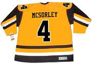 MARTY MCSORLEY Pittsburgh Penguins 1983 CCM Vintage Throwback NHL Hockey Jersey
