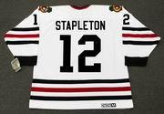 PAT STAPLETON Chicago Blackhawks 1967 CCM Vintage Throwback NHL Hockey Jersey