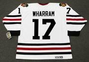 KENNY WHARRAM Chicago Blackhawks 1967 CCM Vintage Throwback NHL Hockey Jersey