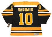 CAROL VADNAIS Boston Bruins 1974 CCM Vintage Throwback NHL Hockey Jersey