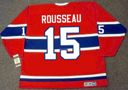 BOBBY ROUSSEAU Montreal Canadiens 1968 Home CCM Throwback NHL Hockey Jersey - BACK