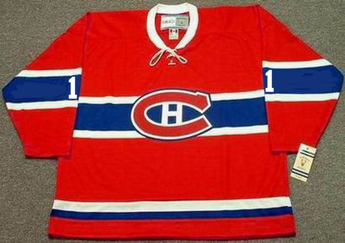 finest selection 2828d 2d7d9 CHARLIE HODGE Montreal Canadiens 1965 CCM Vintage Throwback NHL Hockey  Jersey