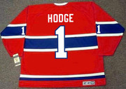 CHARLIE HODGE Montreal Canadiens 1965 Home CCM Throwback NHL Hockey Jersey - BACK