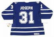 CURTIS JOSEPH Toronto Maple Leafs 2001 CCM Vintage Throwback NHL Hockey Jersey