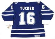 DARCY TUCKER Toronto Maple Leafs 2001 CCM Vintage Throwback NHL Hockey Jersey