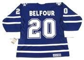 ED BELFOUR Toronto Maple Leafs 2002 CCM Vintage Throwback NHL Hockey Jersey