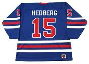 ANDERS HEDBERG Winnipeg Jets 1974 WHA Throwback Hockey Jersey